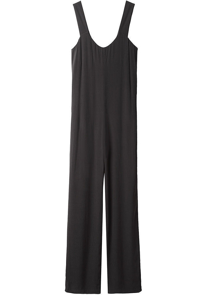 Wide Strap Jumpsuit