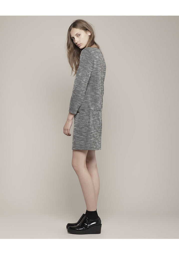 Seamed Pullover Dress