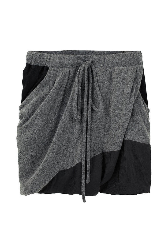 Twisted Drawstring Shorts