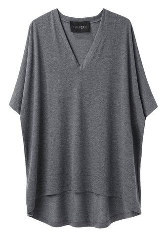 V-Neck Volume T-Shirt