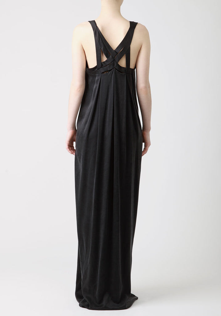 Silk Cross Back Gown