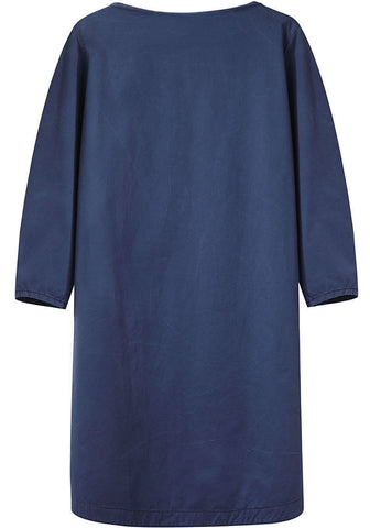 Boatneck Denim Tunic