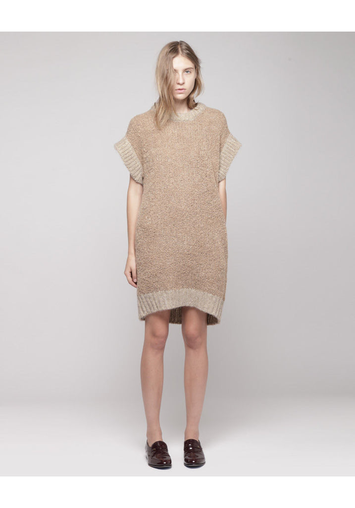 Alpaca Fur Dress
