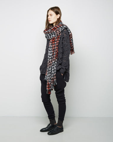 Check Printed Stole