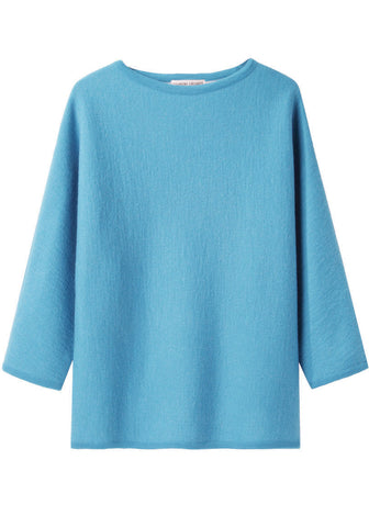 Double Face Boatneck Top