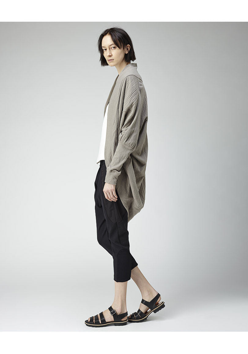 Double Jersey Cocoon Cardigan