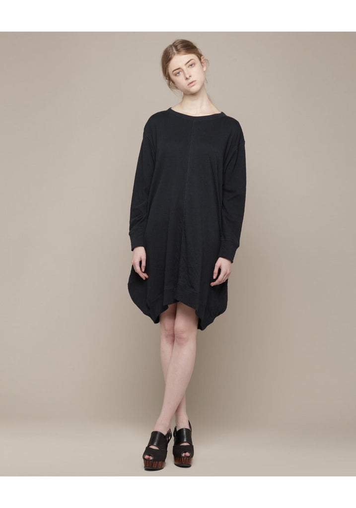 Double Jersey Pocket Dress