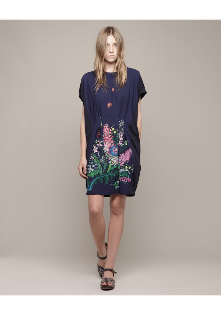 Flower Docking Tee Dress