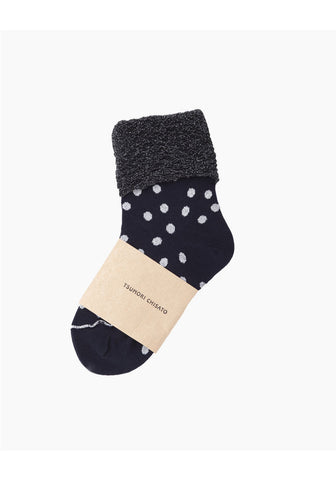 Glitter Dot Socks