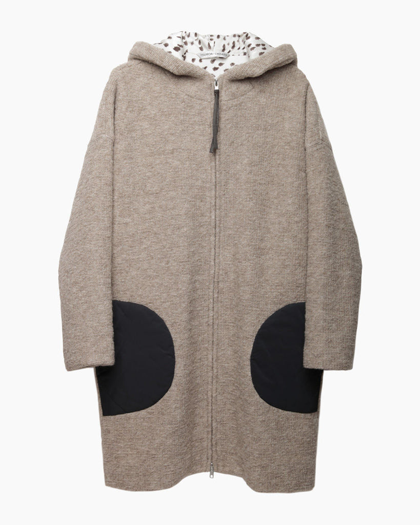 Hooded Sweater Jacket
