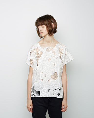 House Embroidery Top