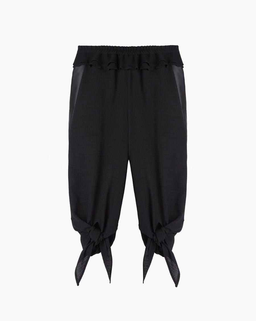 Knotted Cropped Pant