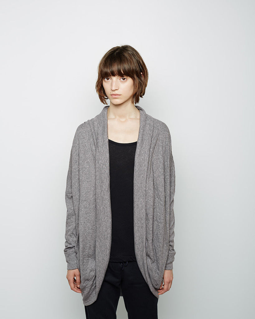 Open Sweatshirt Cardigan