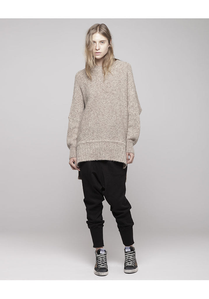 Oversized Alpaca Sweater