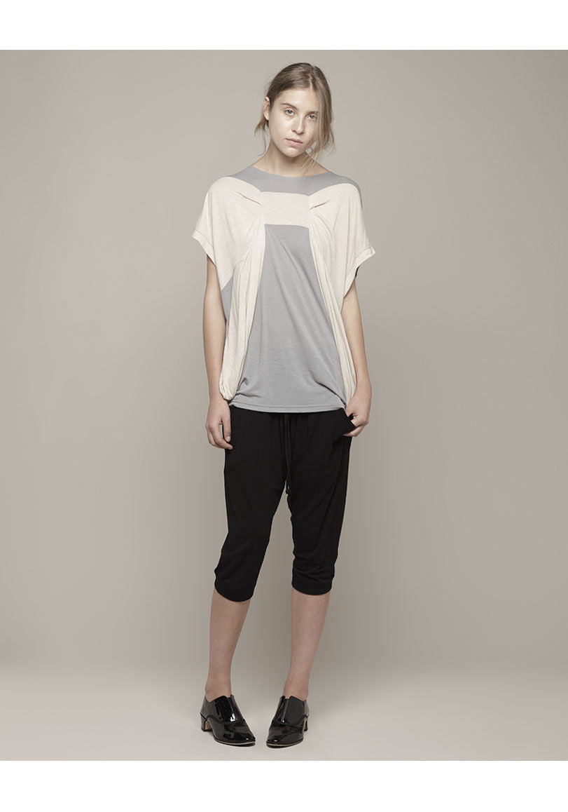 Rayon Soft T Top with Bow