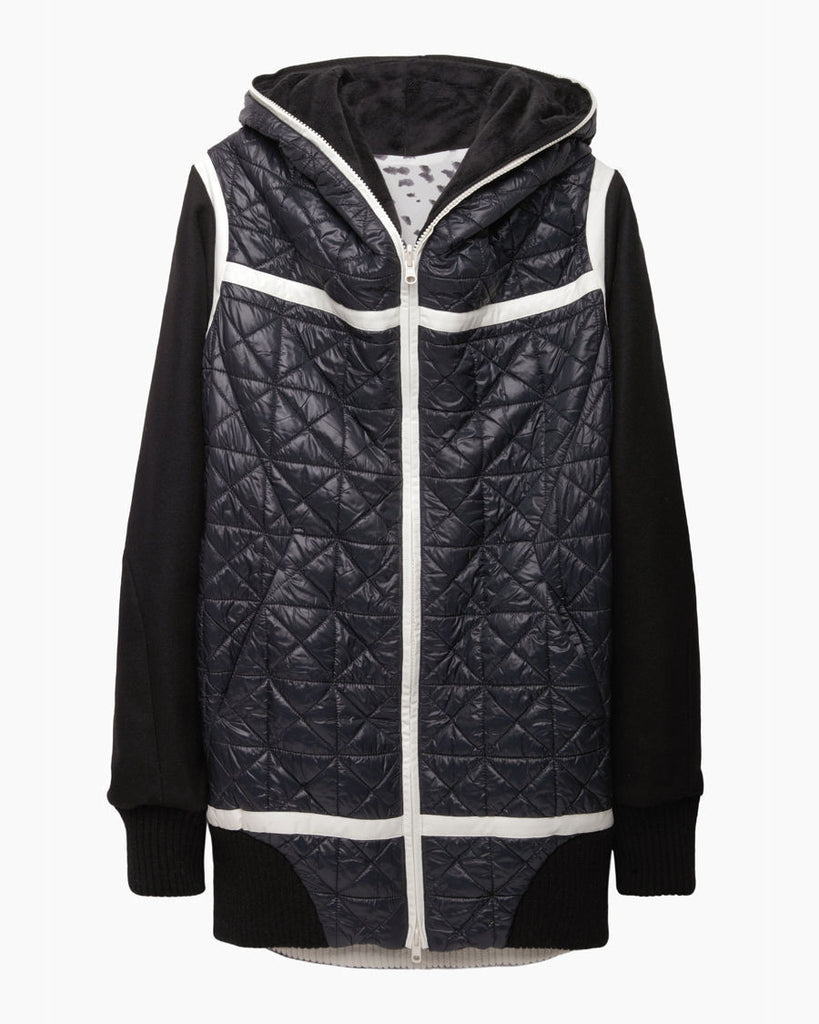 Reversible Hooded Coat