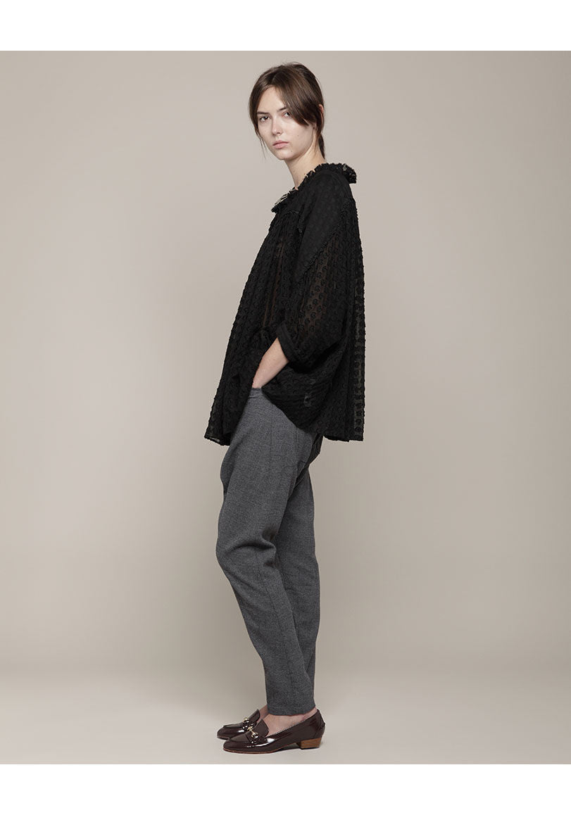 Slouchy Wool Pant