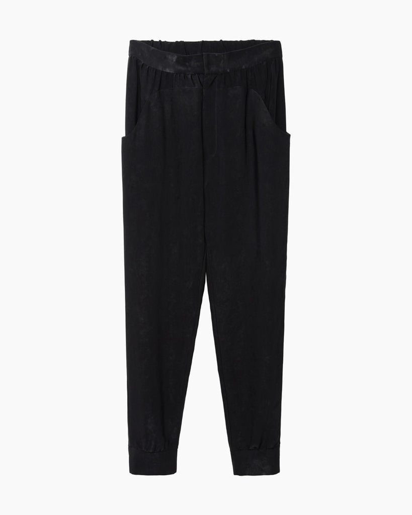 Velvet-Effect Sweatpant