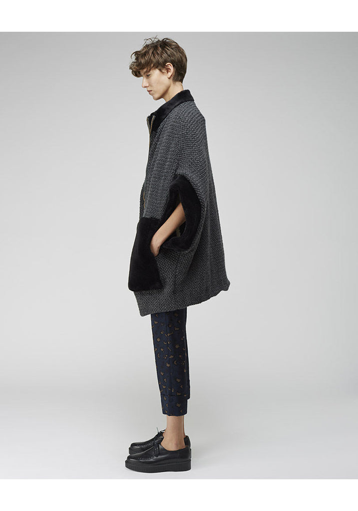 Wool Tweed Coat