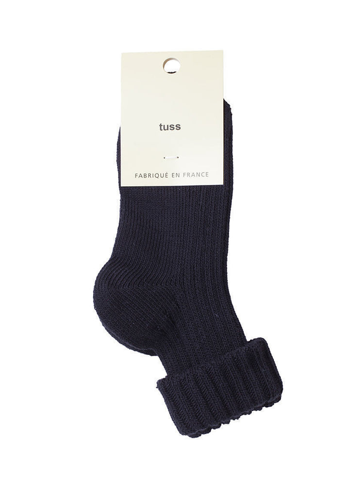 Ribbed Folded Socks