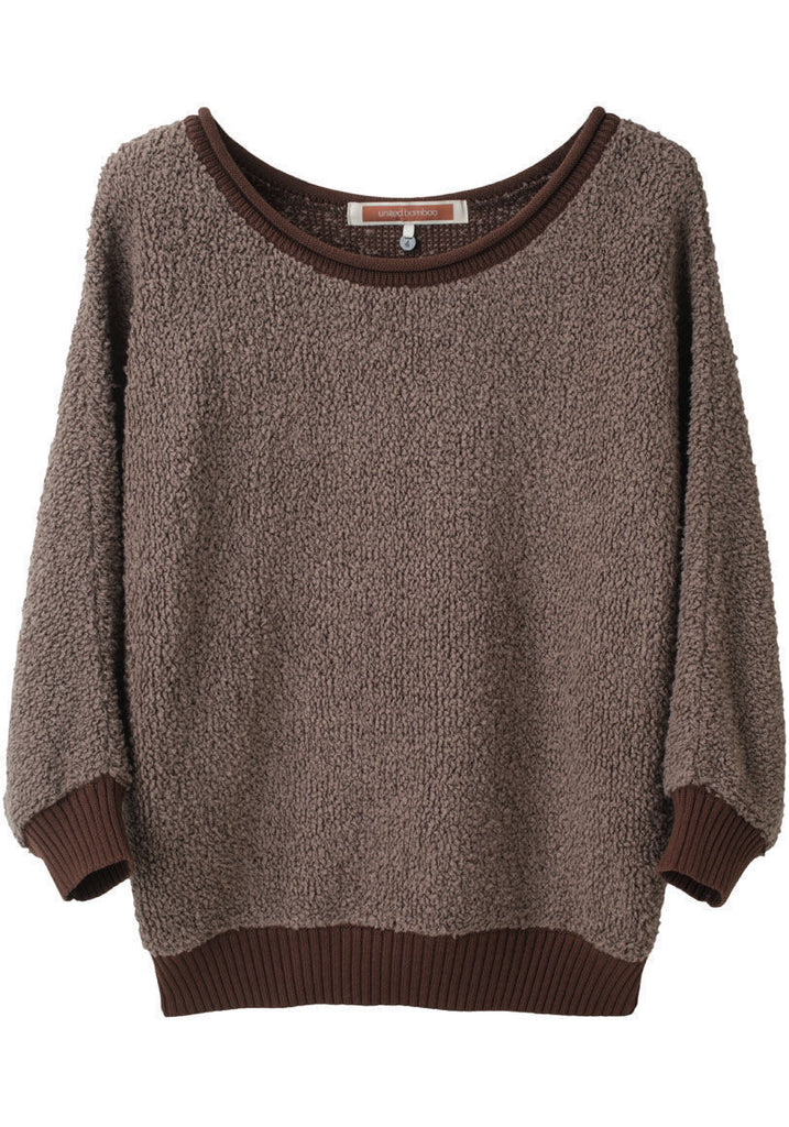 Pile Knit Pullover