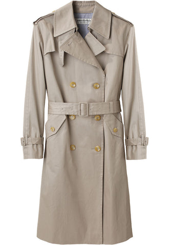 Twill Cotton Trench