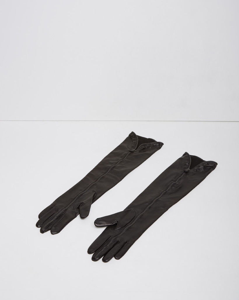 Elbow-Length Zip Glove