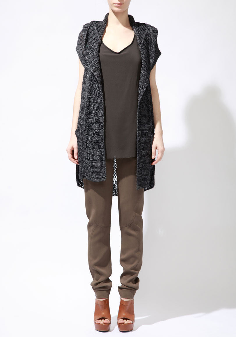 String Throw Cardigan