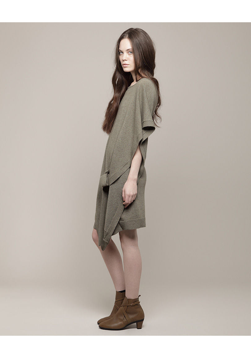 Asymmetric Cape Tunic