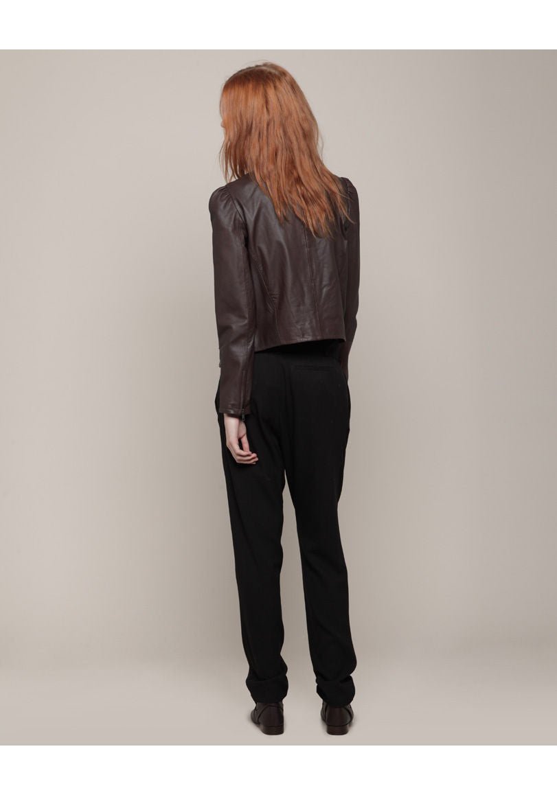 Belted Jersey Pant