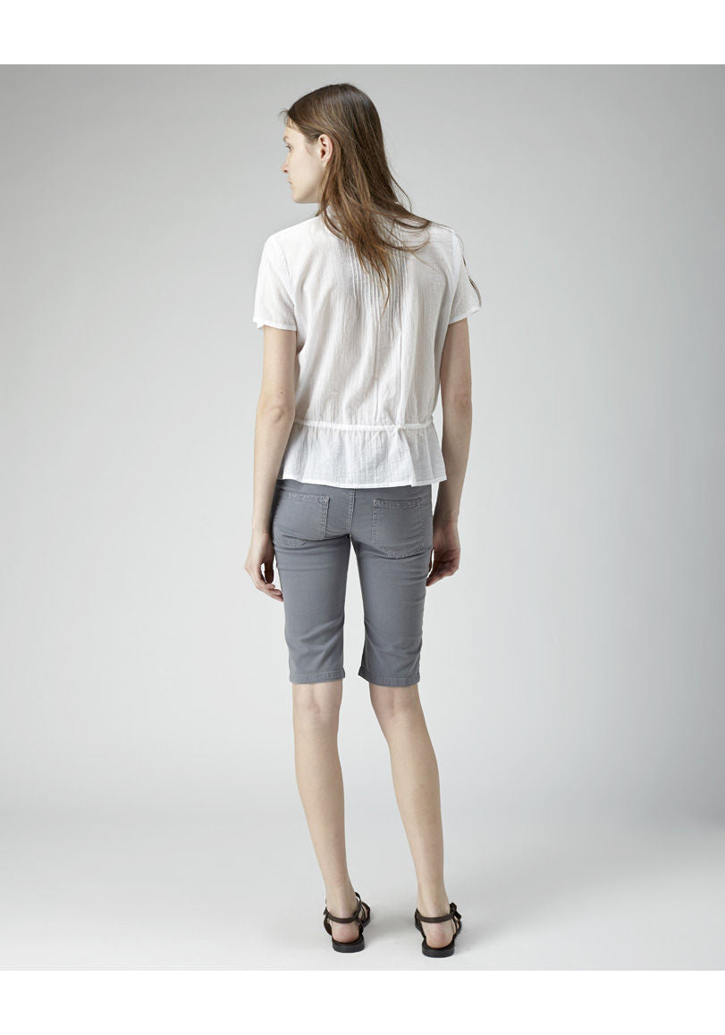Canvas Knee Shorts