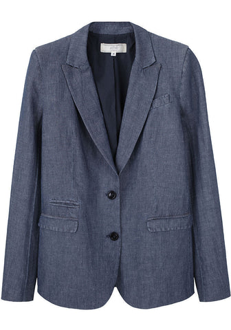 Cotton-Linen Blazer