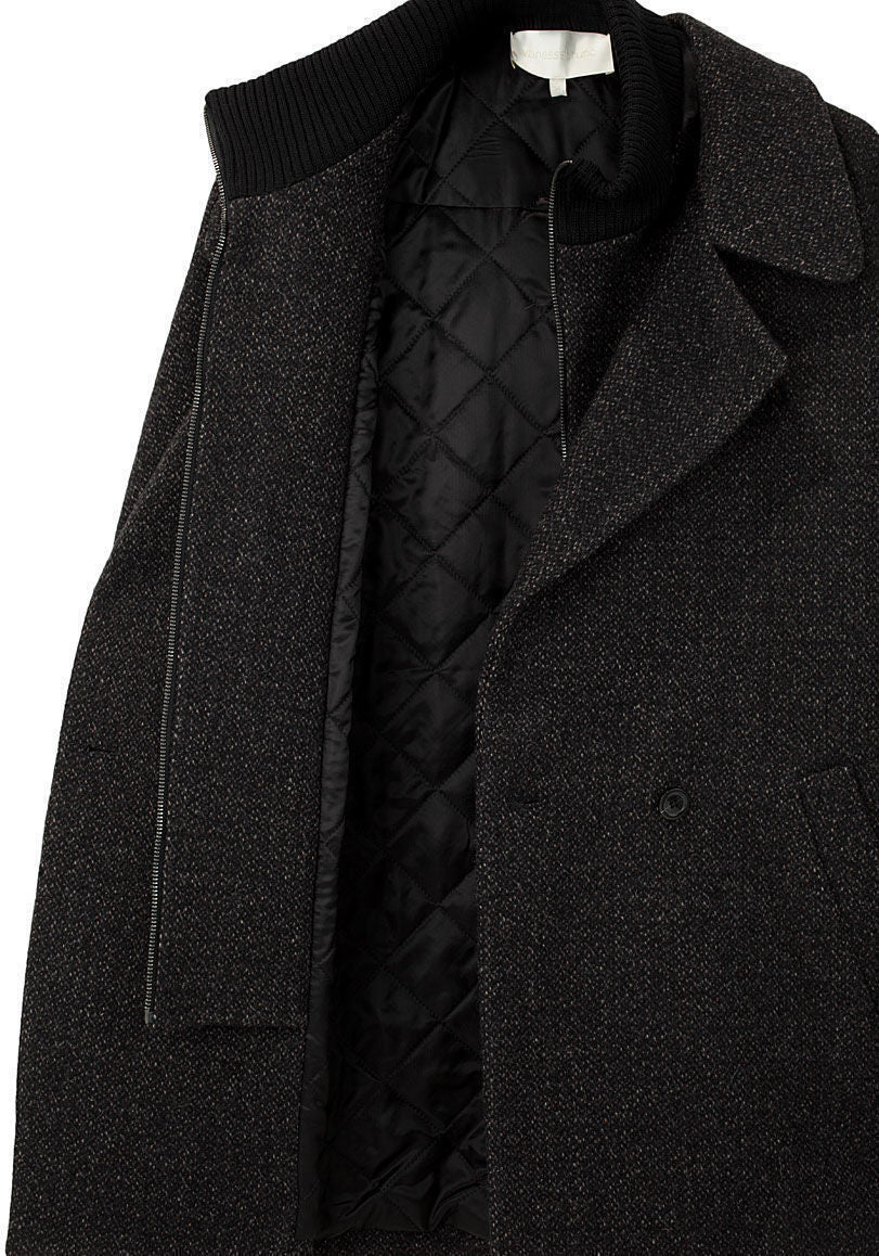 Double Collar Coat