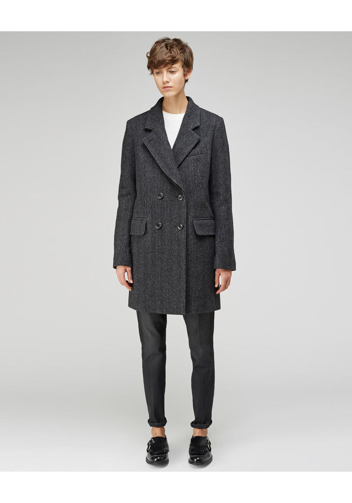 Double Lapel Coat