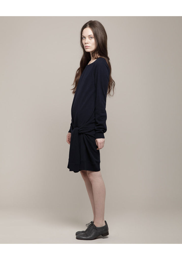 Front Tie Tunic Dress