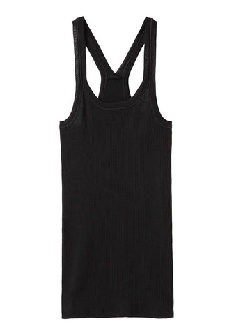 Ribbed Racer Tank