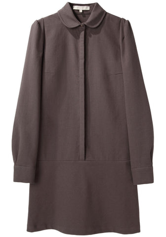 Round Collar Shirtdress
