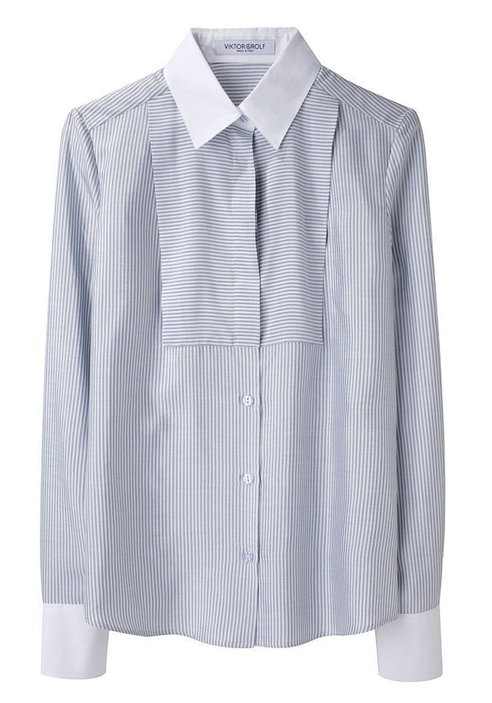 Stripe Silk Shirt