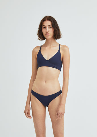 The Selby Reversible Swim Bikini Top