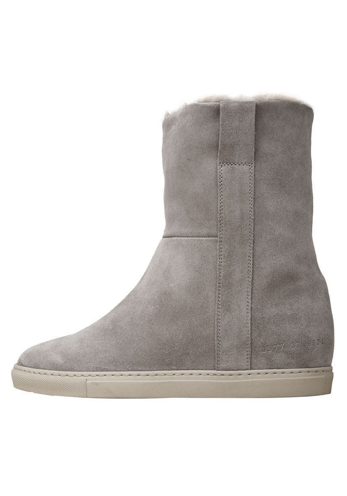 Suede Sherpa Boot