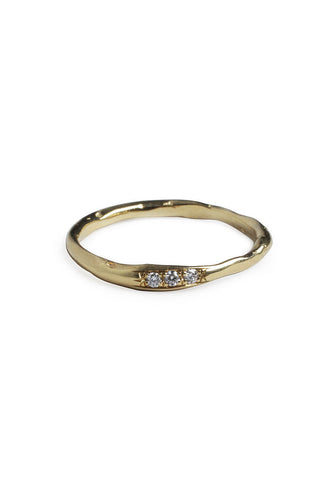 Inlaid Diamond Ring