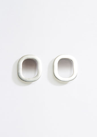 Airplane Window Night Earrings