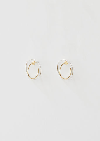 Boucles D'Oreilles Saturn Medium Earrings