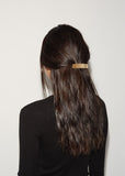 Brushed Brass Hair Clip