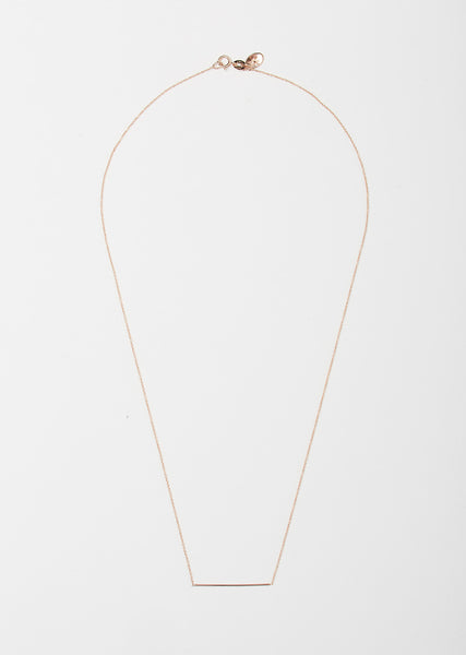 Line Pendant Necklace