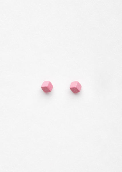 Julien David Cube Pierce Long Earring La Garconne