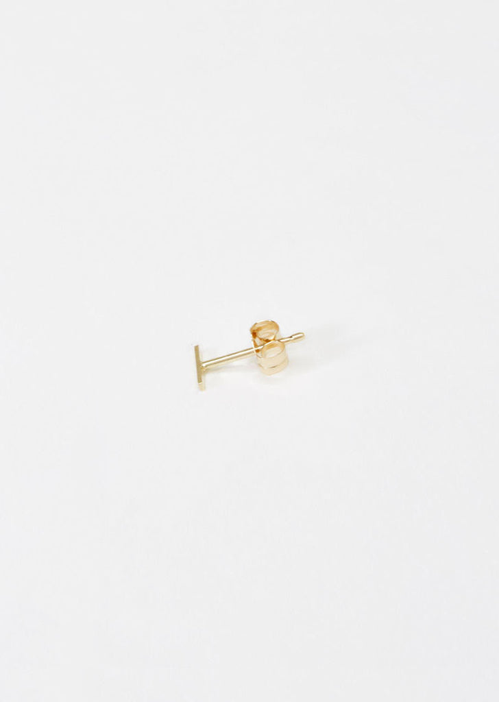 Staple Stud Earring