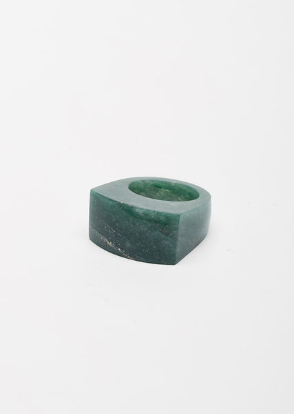 Aventurine Rock Ring