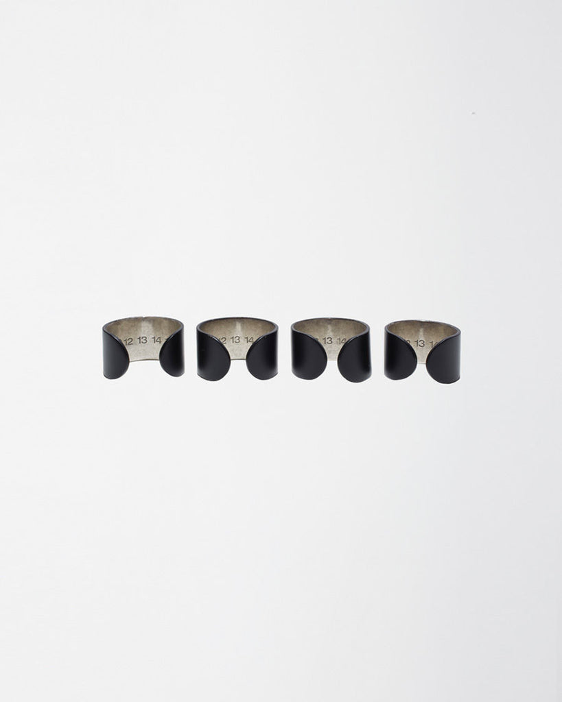 Quadruple Cuff Rings