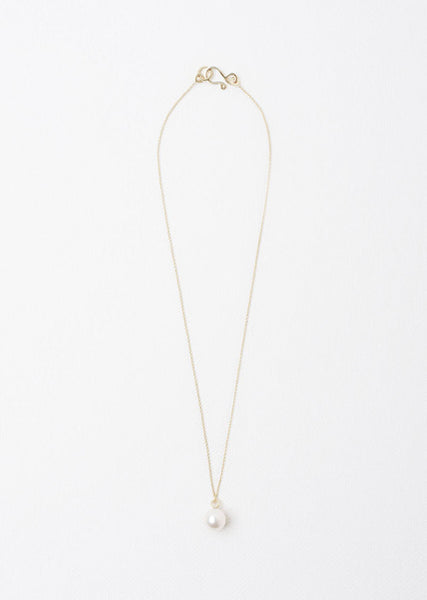 Sophie Bille Brahe Perle Simple Necklace La Garconne